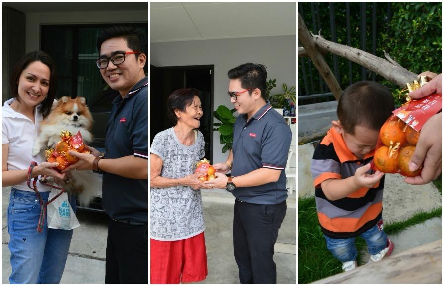 เรียลแอสเสท ส่งมอบความสุขด้วยส้มมงคลในเทศกาลตรุษจีน
