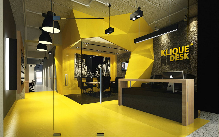 COOL CO-WORKING SPACE IN TOWN - KLIQUE DESK